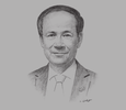 Sketch of Le Luong Minh, Secretary-General, ASEAN