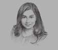 Sketch of Atsi Sheth, Associate Managing Director, Moody's Investors Service