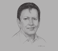 Sketch of ose Ma R Zubiri Jr, Governor, Province of Bukidnon
