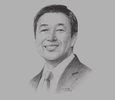 Sketch of Arthur R Tan, President and CEO, Integrated Micro-electronics