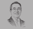 Sketch of Francisco C Sebastian, Chairman, Global Business Power Corporation