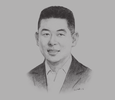 "Sketch of Edgar ""Injap"" Sia II, Chairman and CEO, DoubleDragon Properties"