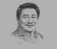 Sketch of J J Atencio, President and CEO, 8990 Holdings