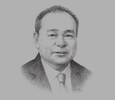 Sketch of Chito Cruz, Chairman, Housing and Urban Development Coordinating Council (HUDCC)