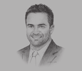 Sketch of David Rizzo, Asia Pacific President, Teleperformance