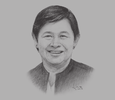 Sketch of Irene Isaac, Director-General, Technical Education and Skills Development Authority (TESDA)