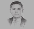 Sketch of Maximo Mejia Jr, Administrator, Maritime Industry Authority (MARINA)