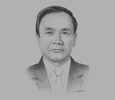 Sketch of Thongsing Thammavong, Prime Minister of Laos and 2016 ASEAN Chair