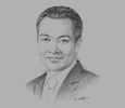 Sketch of Yuthana Promsin, Partner and Co-founder of Juslaws & Consult