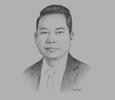 Sketch of Sutthinan Hatthawong, Director-General, Port Authority of Thailand
