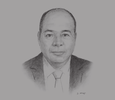 Sketch of Sami Battikh, CEO, Office of Merchant Marine and Ports (OMMP)