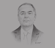 Sketch of Romdhane Souid, CEO, Groupe Chimique Tunisien