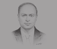 Sketch of Chiheb Bouden, Minister of Higher Education and Scientific Research