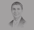 Sketch of Noureddine Hajji, Managing Partner, EY Tunisia