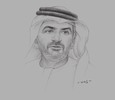 Sketch of Rashed Al Balooshi, CEO, Abu Dhabi Securities Exchange (ADX)