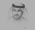 Sketch of Sultan Al Jaber, UAE Minister of State; and CEO, Abu Dhabi National Oil Company (ADNOC)