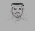 Sketch of Jamal Salem Al Dhaheri, Acting CEO, Senaat