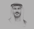Sketch of Hussain Al Hammadi, Minister of Education