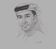 Sketch of Ali Bin Harmal Al Dhaheri, Managing Director, ADNEC Group