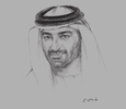 Sketch of Mahmood Ebraheem Al Mahmood, CEO and Chairman, ADS Holding