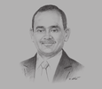 Sketch of Sujeewa Rajapakse, Managing Partner, BDO Partners