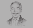 Sketch of Ahmad Tajuddin Ali, Chairman, UEM Group and Construction Industry Development Board; and Joint-Chairman, Malaysian Industry-Government Group for High Technology