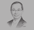 Sketch of Abdul Wahid Omar, Minister in the Prime Minister's Department