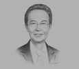 Sketch of Saw Choo Boon, President, Federation of Malaysian Manufacturers; and Co-Chair, Special Task Force to Facilitate Business