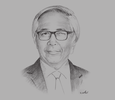 Sketch of Zakri Abdul Hamid, Science Advisor to the Prime Minister; and Joint-Chairman, Malaysian Industry-Government Group for High Technology