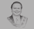 Sketch of Clarence Bongkos Malakun, Chairman, Institute for Development Studies Sabah