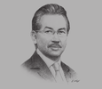 Sketch of Musa Aman, Chief Minister, Sabah