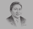Sketch of Melvin Disimond, CEO, Kota Kinabalu Industrial Park (KKIP)