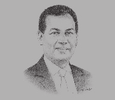 Sketch of Ismail Ibrahim, Chief Executive, Iskandar Regional Development Authority (IRDA)