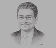 Sketch of Jaseem Ahmed, Secretary-General, Islamic Financial Services Board