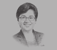 Sketch of Foo Su Yin, CEO, RAM Ratings