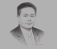 Sketch of Mark Rozario, CEO, Malaysian Innovation Agency (AIM)