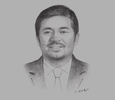 Sketch of Ruben Emir Gnanalingam, CEO, Westports Holdings