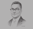 Sketch of  Mohd Azharuddin, CEO, Land Public Transport Commission (SPAD)