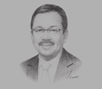 Sketch of Mohd Yusoff Sulaiman, President and CEO, Malaysian Industry-Government Group for High Technology