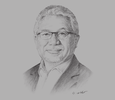Sketch of  Zam Isa, Group CEO, Telekom Malaysia (TM)