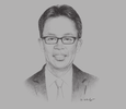 Sketch of Pang Teck Wai, CEO, Palm Oil Industrial Cluster (POIC) Sabah