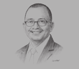 Sketch of Ahmad Lutfi Abdull Mutalip, Partner, Azmi & Associates