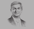 Sketch of Ajay Kanwal, Regional CEO, ASEAN and South Asia, Standard Chartered