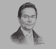 Sketch of Osman Jair, Managing Director, Insurans Islam TAIB; and Chairman, Brunei Insurance and Takaful Association (BITA)