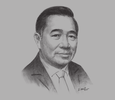 Sketch of Bobby Chua, Vice-Chairman, Swee