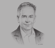 Sketch of Mario Hardy, CEO, Pacific Asia Travel Association (PATA)