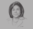 Sketch of Paula Gopee-Scoon, Minister of Trade and Industry