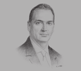 Sketch of Robert Trestrail, Executive Vice-President and General Manager, Sagicor Life