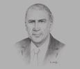 Sketch of Arthur Lok Jack, Executive Chairman, Associated Brands