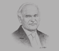 Sketch of Kenneth Vieira, Senior Partner, J.D. Sellier